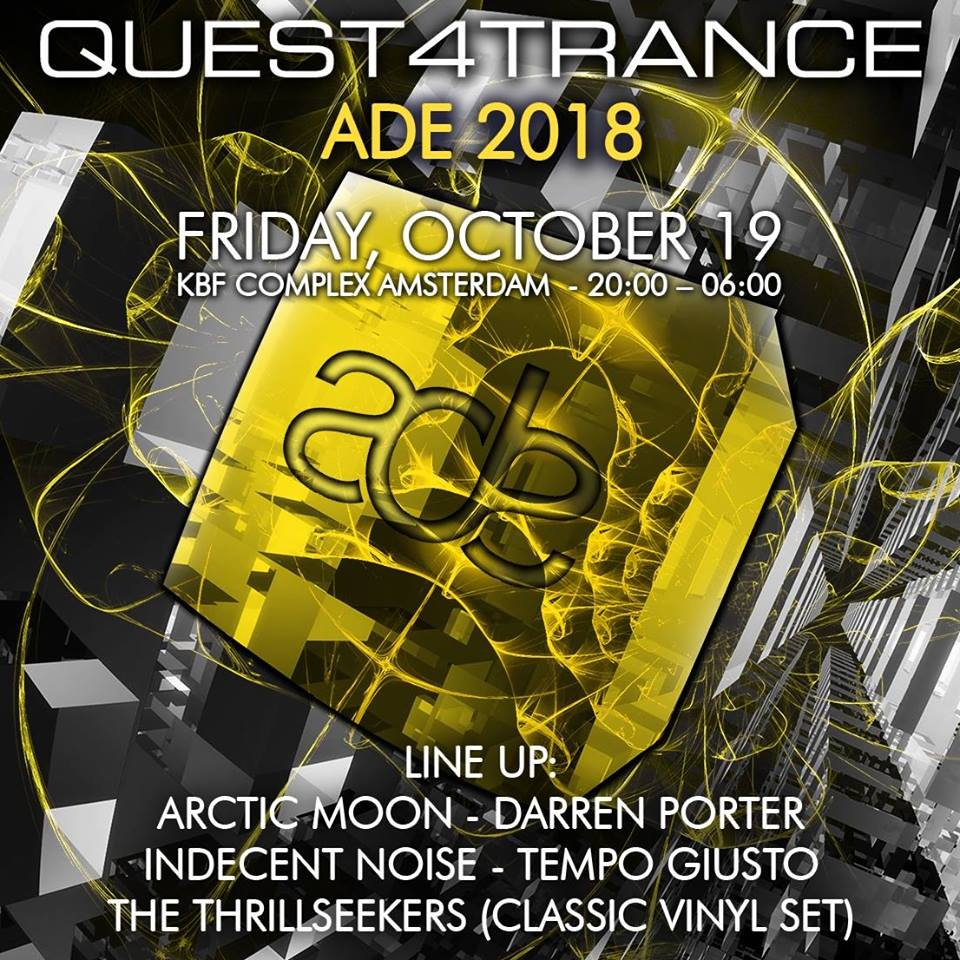 Quest4Trance ADE 2018: get ready for a banger!